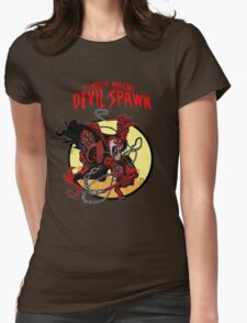 The Mouth Mercing Devil-Spawn Womens Fitted T-Shirt