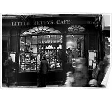 Little Betty's - Stonegate - York Poster