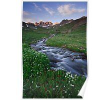 American Basin - Lake City Colorado Poster