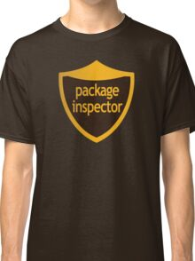 Package Inspector Classic T-Shirt