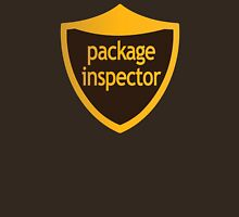 Package Inspector Unisex T-Shirt