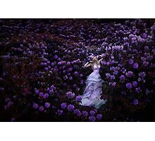 LABYRITH OF FLOWERS Photographic Print