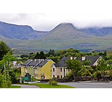 Sneem town kerry Eire Photographic Print