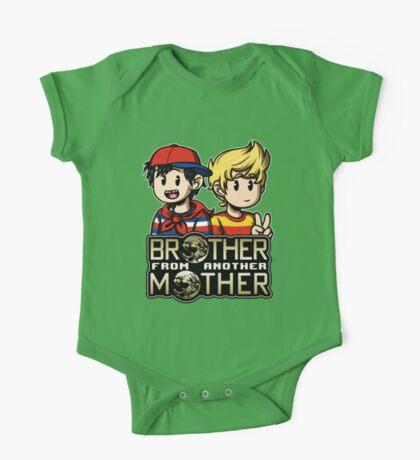 Another MOTHER - Ninten & Lucas (alt) One Piece - Short Sleeve