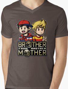 Another MOTHER - Ninten & Lucas (alt) Mens V-Neck T-Shirt