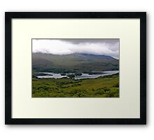 sky waters Framed Print