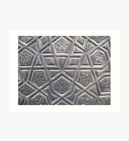 Gate  of Blue Mosque Art Print