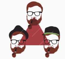 Holy Hipster Trinity by Nick Mann