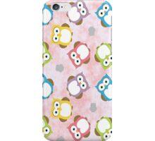 Polka Dot Owls iPhone Case/Skin