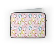 Polka Dot Owls Laptop Sleeve