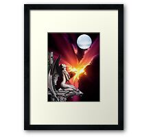 For Love Of The Night Framed Print