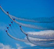 Red Arrows III by TheWalkerTouch