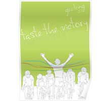 fg,taste the victory - UCI Geelong 2010 Poster