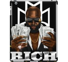 """RICK ROSS """"RICH FOREVER"""" iPad Case/Skin"""