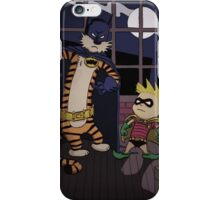 Calvin And Hobbes Parody iPhone Case/Skin