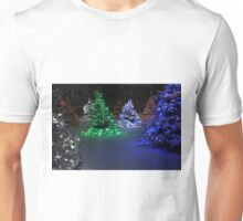 Electric Winter Wonderland Unisex T-Shirt