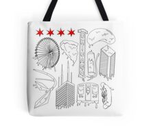 Drippy City Tote Bag
