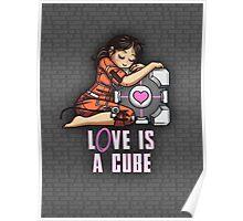 L0VE is a CUBE (Portal 1 ver.) Poster