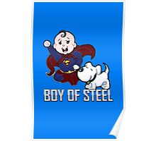 SUPER BABY & HIS DOG Poster