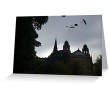 Dragons In Edinburgh Greeting Card