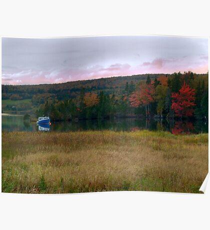 Fall on Baddeck Bay Poster