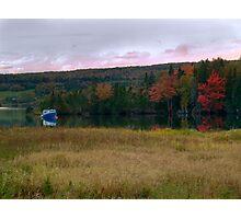 Fall on Baddeck Bay Photographic Print