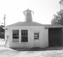 The Coffee Pot (circa 1920's) - Brookhaven, MS by Dan McKenzie