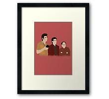 The Feld Framed Print