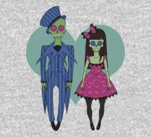 Skull Couple Kids Tee