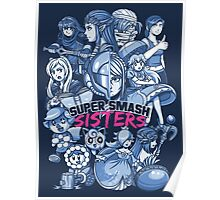 SUPER SMASH SISTERS Poster