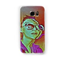 Distorted Alien on Cocaine in The 80s - Phone Case Samsung Galaxy Case/Skin