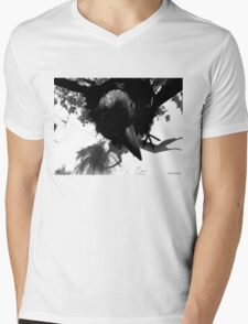Barbie Attacked by Giant Monsterbird Mens V-Neck T-Shirt