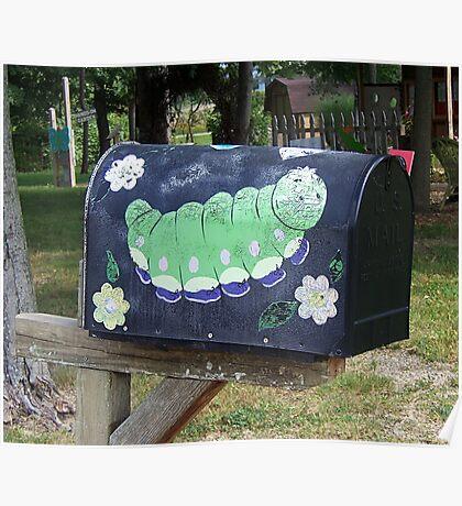 Snail Mailbox Poster