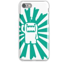 rising sun domo greenish iPhone Case/Skin