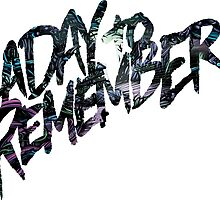 """A Day To Remember """"Homesick"""" Logo by SupremeRedditor"""
