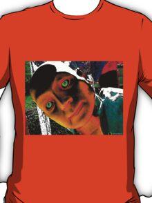 Hugo, Man of a Thousand Faces Hits the Acid T-Shirt