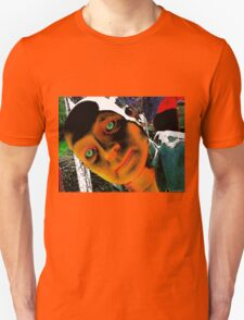 Hugo, Man of a Thousand Faces Hits the Acid Unisex T-Shirt