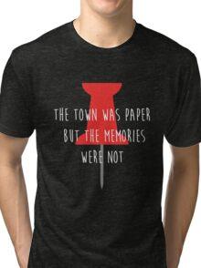 Paper Towns shirt – Pin, Cover Art, John Green Tri-blend T-Shirt
