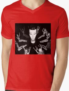 Mandy the Giant Head and her Minions Mens V-Neck T-Shirt