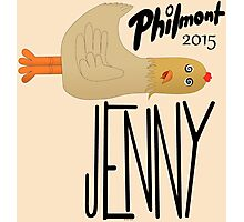 Jenny The Chicken 508 Philmont 2015 Photographic Print