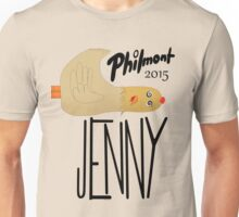 Jenny The Chicken 508 Philmont 2015 Unisex T-Shirt