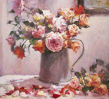 wild rose...end of summer by vasenoir