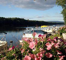 Summer at the river by Heidemarie