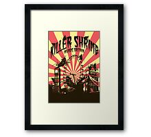 Killer Shrimp Framed Print