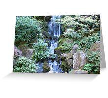 Scenic Waterfalls Greeting Card