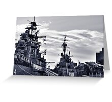 Naval Park And Museum Greeting Card