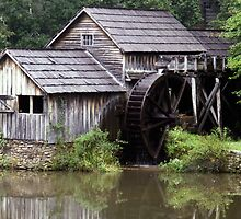 Mabry Mill - Blue Ridge Parkway by bearphoto