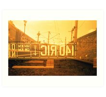 Railroad Art Print