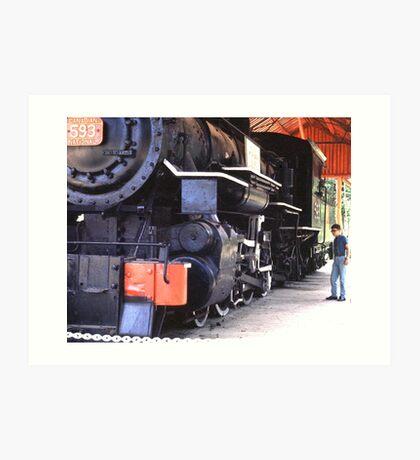Age of Steam Art Print