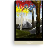Autumn Grace Canvas Print